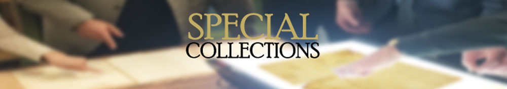 Special Collections Faculty and Staff Publications