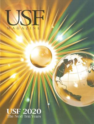 USF magazine Articles about USFSP