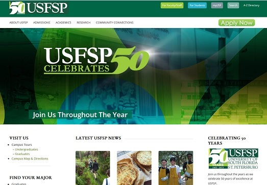 USF St. Petersburg 50th Celebration