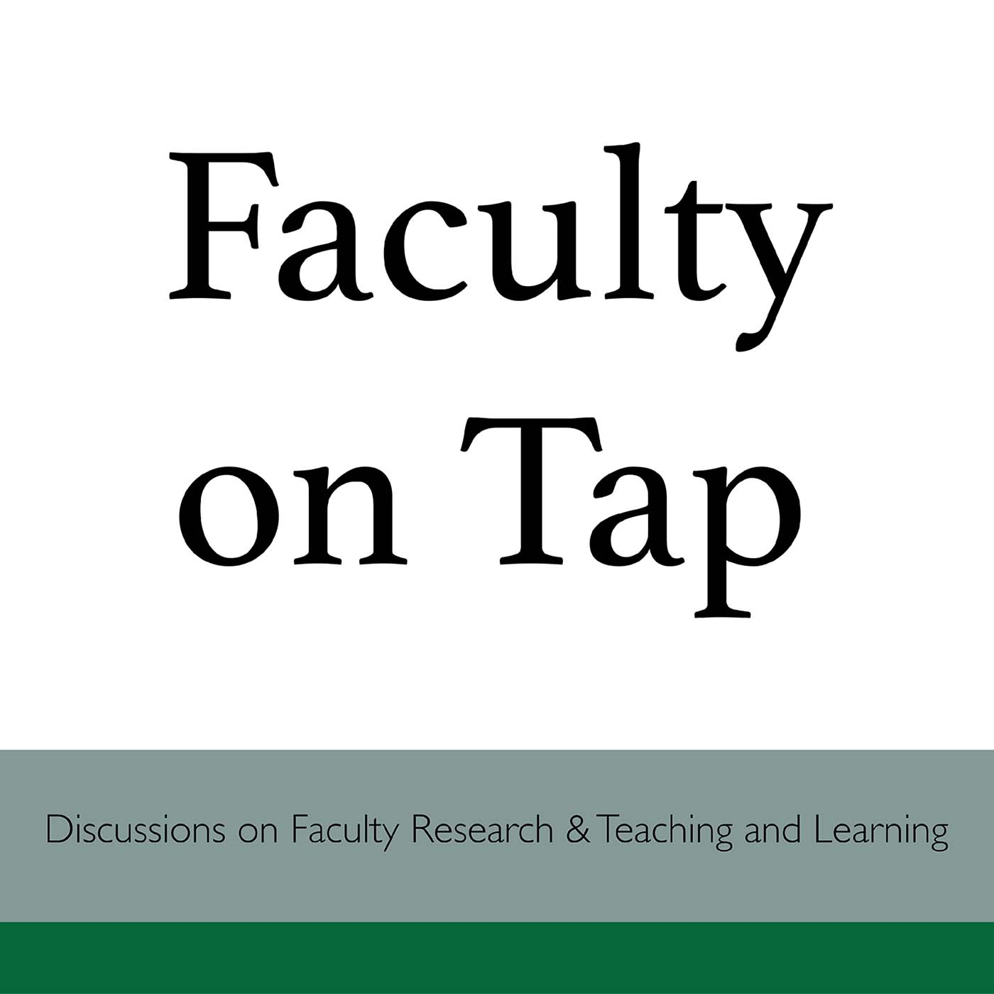 Faculty on Tap