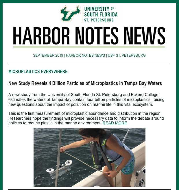 Harbor Notes