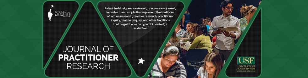 Journal of Practitioner Research homepage