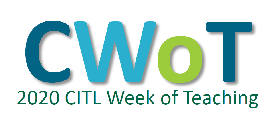 2020 CITL Week of Teaching