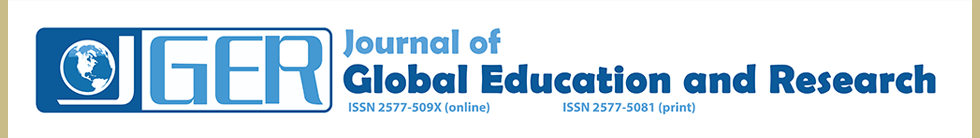 Journal of Global Education and Research