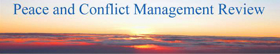 Peace and Conflict Management Review banner