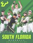 2019 Baseball Media Guide by University of South Florida