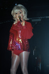 Lady Bunny in red