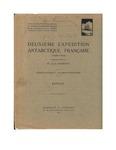 Holothuroids. Second French Antarctic Expedition (1908–1910): A Translation of <em>Holothuries. Deuxième Exédition Antarctique Française (1908–1910)</em> by Clément Vaney and John M. Lawrence