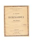 Echinoids of the Indian Museum at Calcutta. III. Regular Echinoids: A Translation of <em>Échinides du Musée indien à Calcutta. III. Echinides réguliers</em>