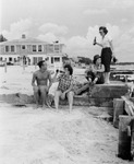 Beach scene at Jack's Place