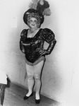 Drag queen wearing a costume