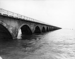 Arched concrete supports of the Overseas Highway in Monroe County