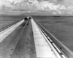 Automobile traffic on the Overseas Highway in Monroe County
