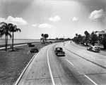 Bayshore Boulevard looking southwest from South Boulevard