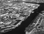 Aerial view of Port of Tampa