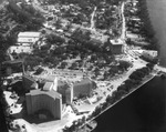 Aerial view of Davis Islands from Tampa General Hospital