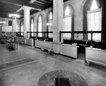 Interior view of the First National Bank of Tampa at North Franklin Street