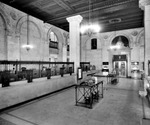 Interior of the First National Bank of Tampa on North Franklin Street