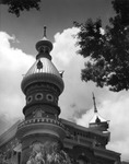 Minaret on the roof of the University of Tampa
