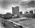Franklin Street (400 block) bounded by Madison and Lafayette Streets, opposite demolished and cleared courthouse block