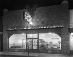 S. Agliano and Sons Fish Company on 7th Avenue at night