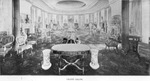 Photograph of an illustration of the Grand Salon at the Tampa Bay Hotel