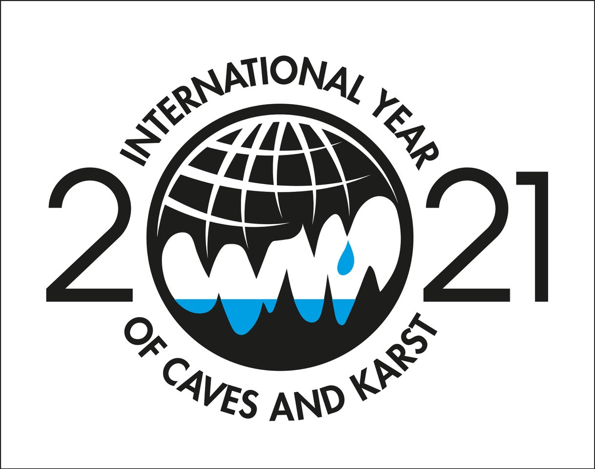 International Year of Caves and Karst logo