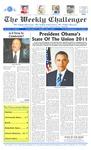 The Weekly Challenger : 2011 : 01 : 27 by The Weekly Challenger, et al