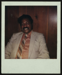 Portrait of Cleveland Johnson relaxing.