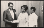 Cleveland Johnson with members of Orange Blossom Beauticious Association.