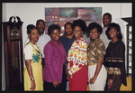 Sharon Hinton, Tammy Moore, Valerie Jenkins, June Kicklighter, Tangela Manph, Dwayne Brimm, David Whitfield, and Dexter McCree at the Class of 1980 Countywide Mixer