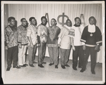 Group of men attending the Alpha Ball