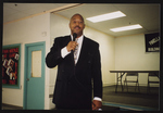 Goliath Davis speaking at the Urban League
