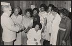 Group portrait, including O.B. McLin, Carolyn Stitt, and Gussie Randolph