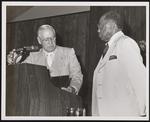 John Hopkins Sr. at an event