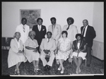 Group of men, including Ernest Poncler, L.D. Brown, and Atty Fred Minis Sr.