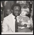 Watson Haynes II and a child
