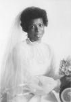 Joanne Rainey in bridal portrait