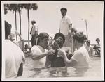 Jehovah's Witness baptism, July 1977