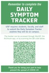 Symptom Tracker - A Frame Insert 24x36 by USF