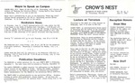 Crow's Nest : 1985 : 06 : 11