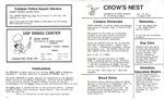 Crow's Nest : 1986 : 08 : 13