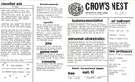 Crow's Nest : 1982 : 08 : 24