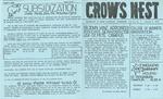 Crow's Nest : 1979 : 01 : 08