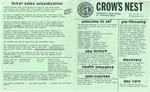 Crow's Nest : 1982 : 09 : 29