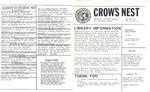 Crow's Nest : 1981 : 05 : 29