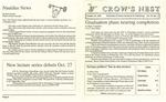 Crow's Nest : 1992 : 10 : 26