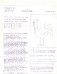 USFSP Bay Campus Bulletin : 1969 : 11 : 26 by University of South Florida St. Petersburg. and J. M. (Sudsy) Tschiderer