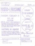 USFSP Bay Campus Bulletin : 1970 : 02 : 11