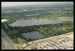 Aerial view of Lake Park and Starvation Lake : Environmental Lands Acquisition and Protection Program Collection